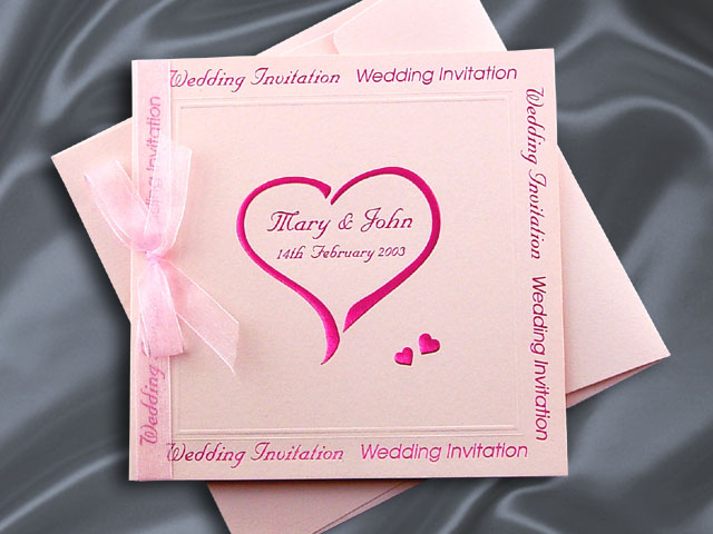 H2070 Wedding Invitation