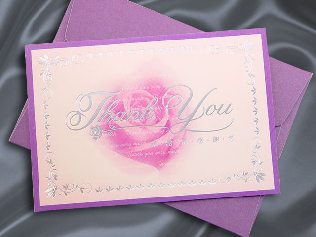 H2077 Thank you card