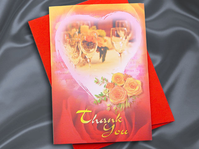 H2107 Thank you card
