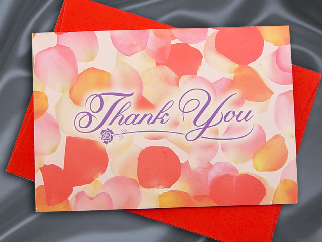 H2108 Thank you card