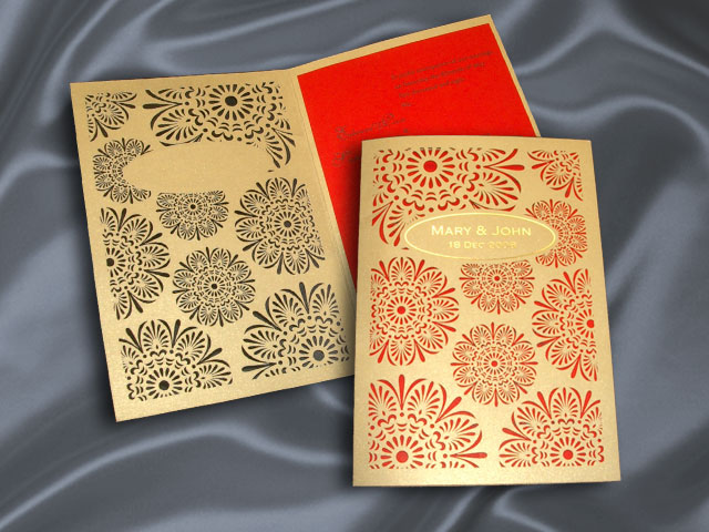 H2194G Wedding Invitation