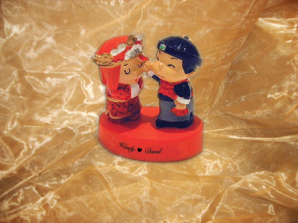 H2F2037 Chinese couple figurines - 50%OFF