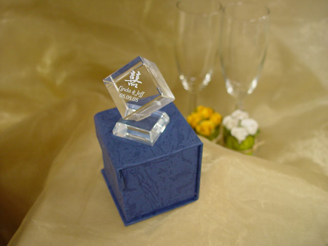 H2F2318 Small Crystal Cube
