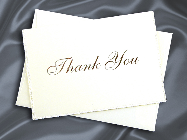 HHT2520 THANK YOU CARD