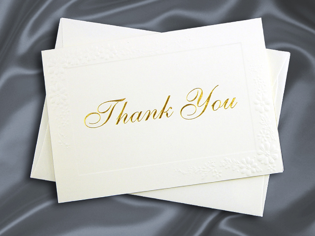 HH7110 THANK YOU CARD