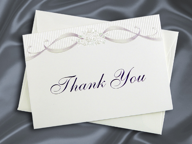 HHT83590 THANK YOU CARD
