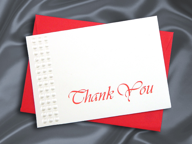 HHT95310 THANK YOU CARD