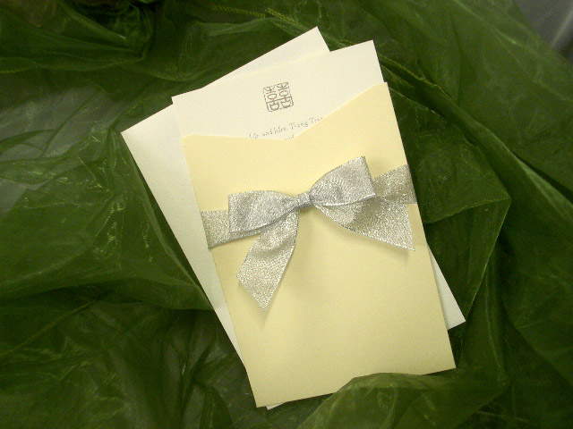 JI3115 Pocket Invitation (Lemon)