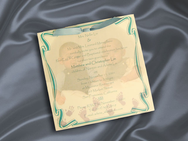 Custome Invitation (R.9008)